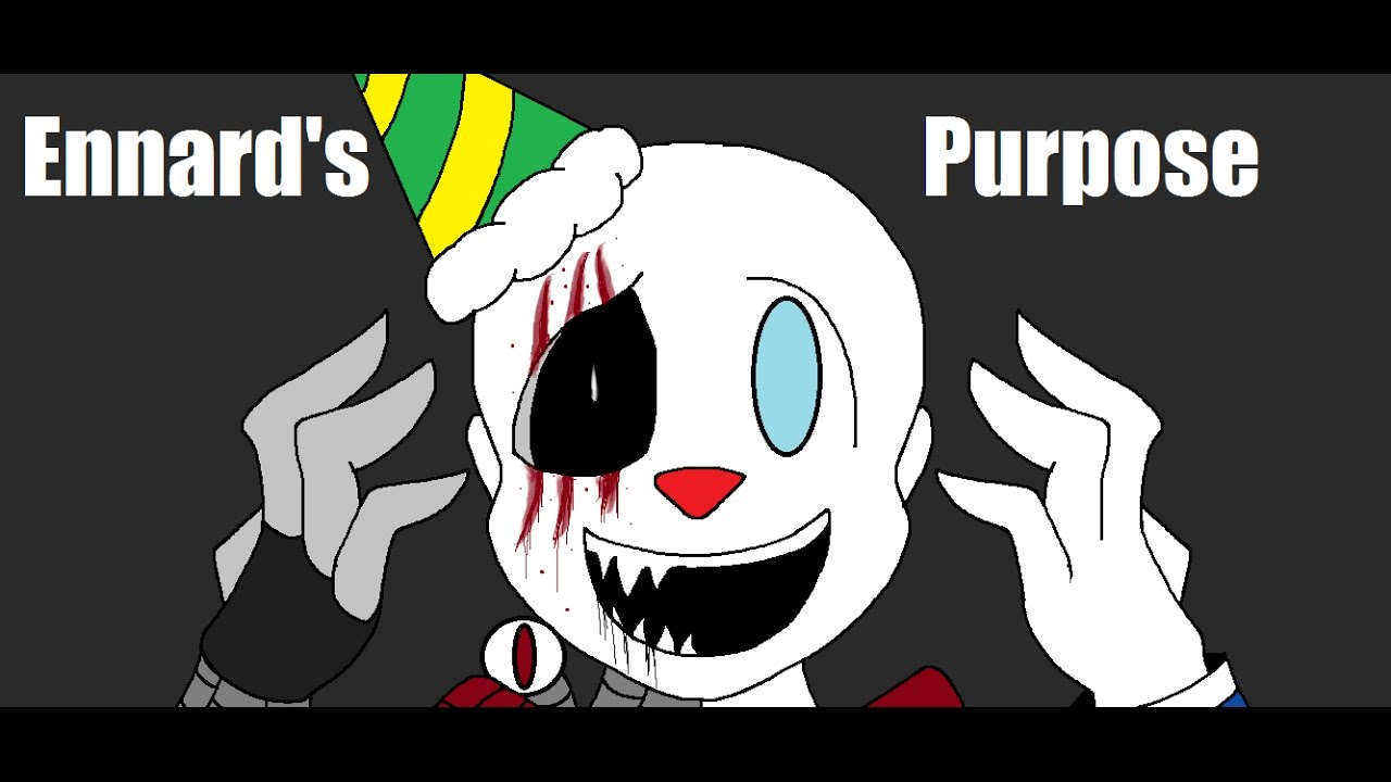 Ennard S Purpose Fnaf Sl Music Vid Warning Blood Gore