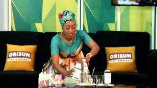 MD of Quincy Herbals, Tobi Keeney, on Orisun TV- 15JUL15