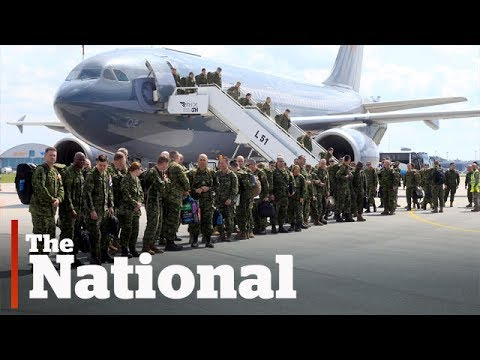 Russians criticize Canadian troops in Latvia