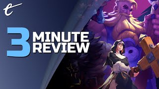Darksburg | Review in 3 Minutes (Video Game Video Review)