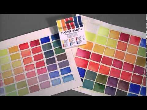 daniel smith watercolor essentials set youtube