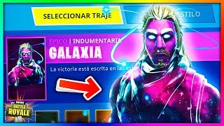 Galaxy! 🌟 All New Skins FIltradas in Fortnite: Battle Royale [BySixx]