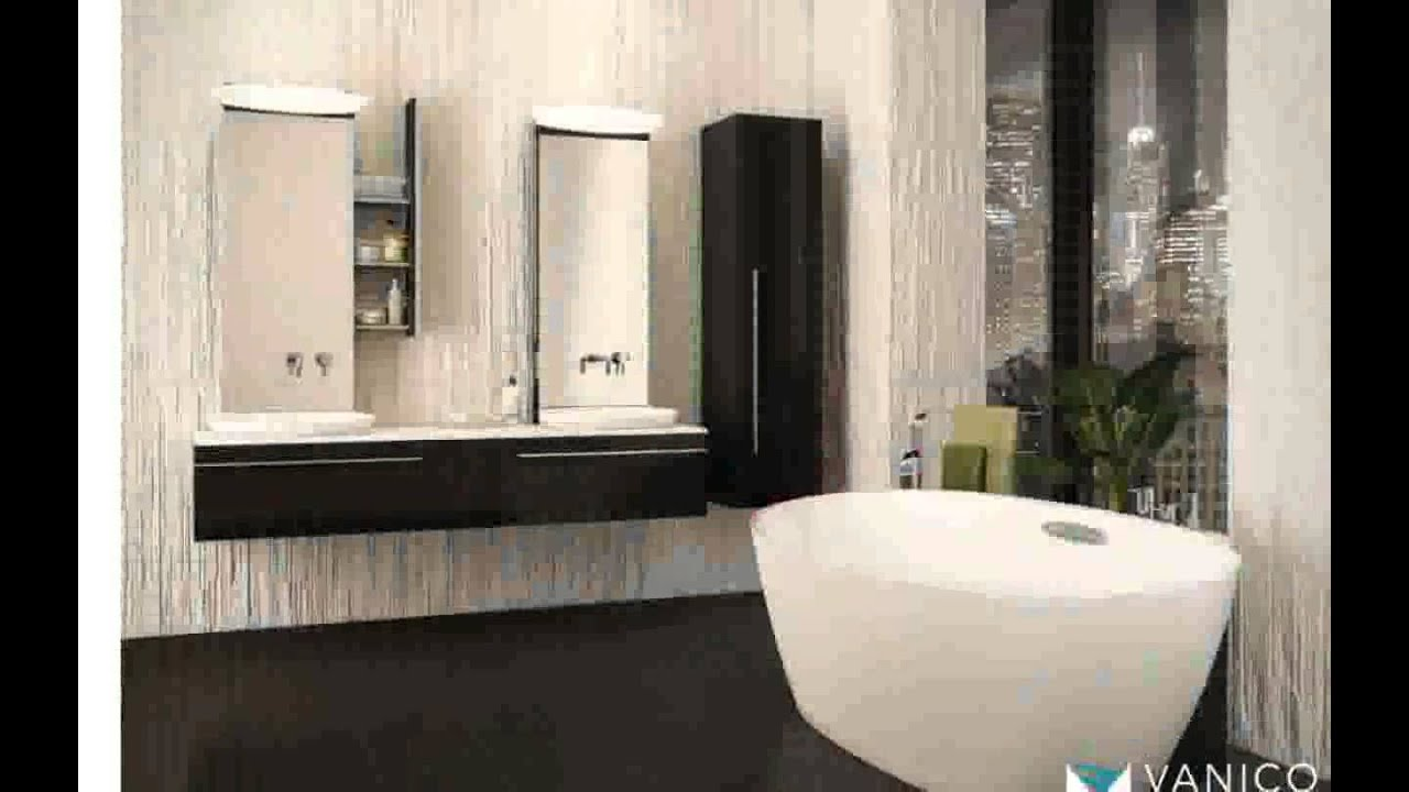 pharmacie de salle de bain youtube. Black Bedroom Furniture Sets. Home Design Ideas