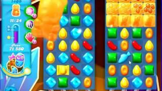 Candy Crush Saga SODA Level 1409 CE