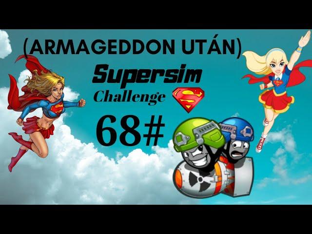 Armageddon után (68.rész)🤦♀/SuperSim Challenge/The sims 4