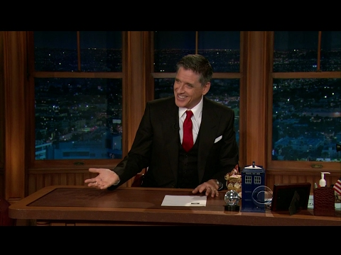 Late Late Show with Craig Ferguson 8/3/2012 Edward Norton, Malin Akerman