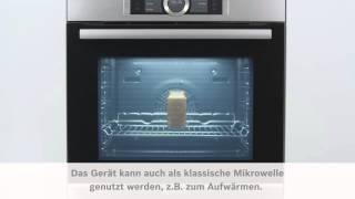 Bosch Sensor-Backofen Serie 8 Mikrowelle