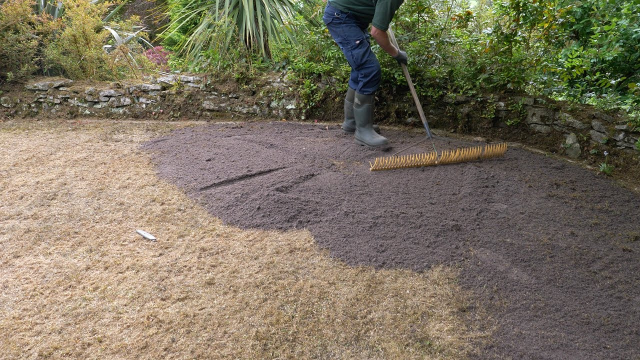 783756ceb9 Lawn Care - Top Dressing Applications - YouTube