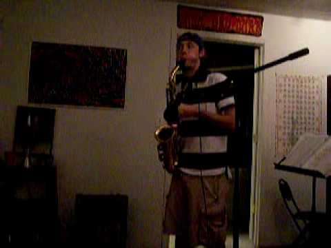 Wonderwall (Oasis Cover on Sax) by A-Rod