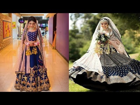 latest-blue-designer-bridal-lehenga-designs||-beautiful-royal-blue-lehenga-designs-for-wedding
