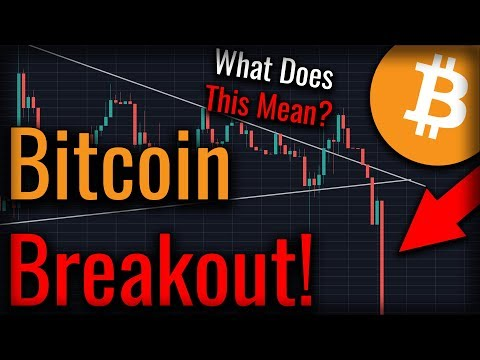 Bitcoin Broke Bearish! What Does This Mean For Bitcoin?