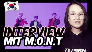 Jamie-Lee | Interview mit einer KPOP-Group | M.O.N.T