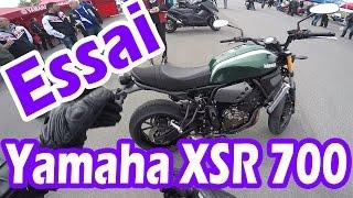 Yamaha XSR700 | ESSAI A2 | Quel moteur!!! **Maverick159**