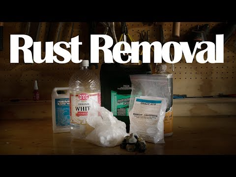 Rust Removal Methods Explained