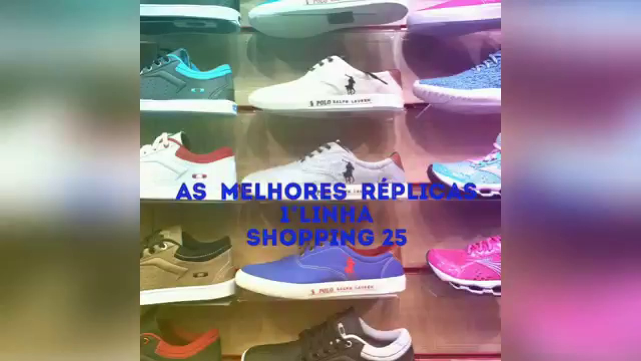 53374ce2d06 Brás shopping 25 tênis réplicas. - YouTube