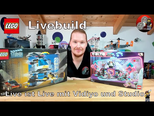 Live ist Live | Lego® Studios 1351 und Vidiyo 43113 Livebuild | Spontanstream