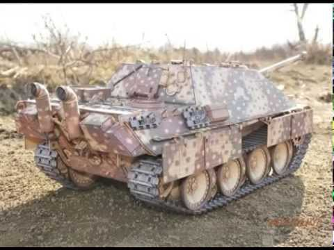 Papercraft JAGDPANTHER  - paper model