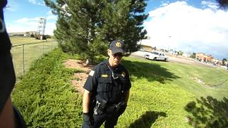 #ICM3 #PoliceState #Opression of the #Homeless Cheyenne WY Wal-Mart 8-4-13