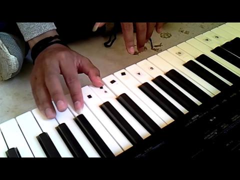 belajar piano lagu gaby tinggal kenangan mudah