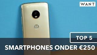 Top 5: beste smartphones onder €250 (Dutch)