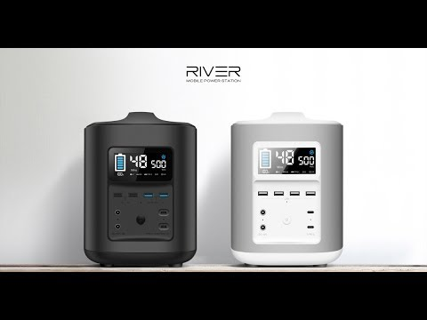 RIVER - Your Mobile Power Station & Solar Generator . . Home Automation Inventions