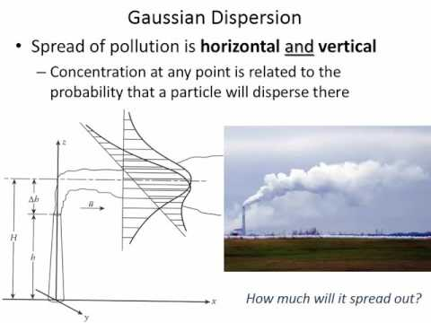 CVE 351 - Class 34 (Atmospheric Dispersion and Gaussian Model) 30 Nov 2015