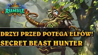 DRŻYJ PRZED POTĘGĄ ELFÓW! - SECRET BEAST HUNTER - Hearthstone Decks (Rastakhan