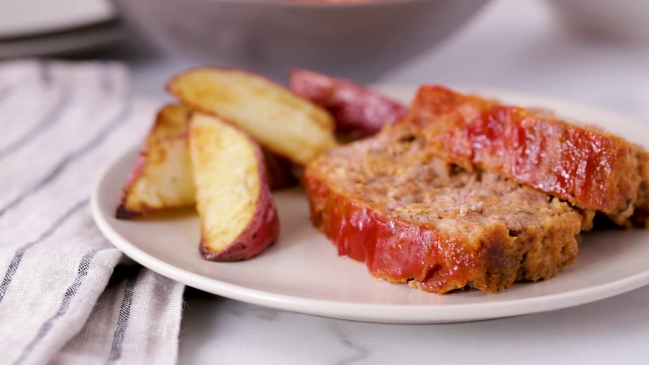 Home Style Meatloaf Recipe Bettycrocker Com