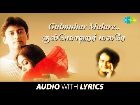 Gulmohar Malare with Lyrics | Majunu | Vairamuthu | Harris Jayaraj | Hariharan, Anuapama, Timmy