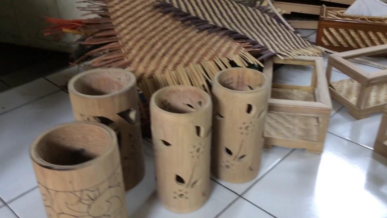 Foto Kerajinan Bambu
