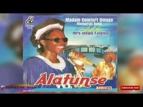 YORUBA MUSIC►Madam Comfort Omoge (Mrs Idowy Fafoluyi) - Alatunse || Ikale Music