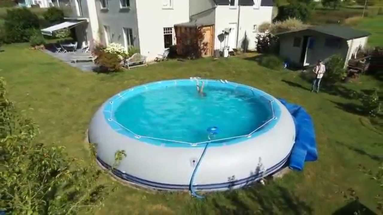 Lasne piscine zodiac winky 2015 07 01 youtube for Piscine zodiac