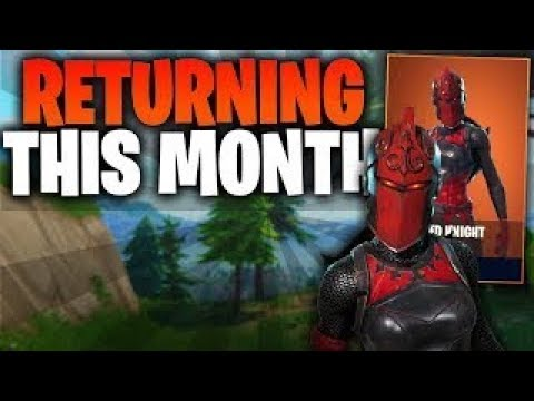 Epic Dev CONFIRMS! Fortnite Battle Royal RED KNIGHT ...