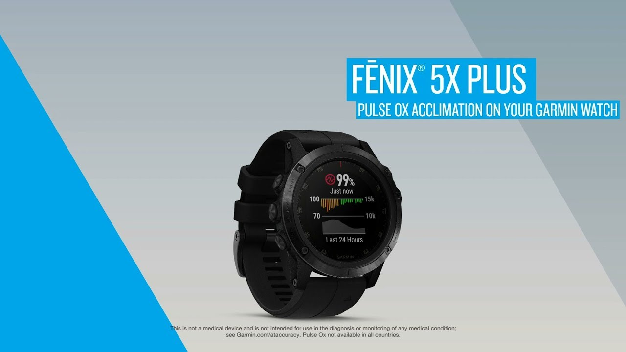 Pulse Ox Acclimation on Your Garmin Watch