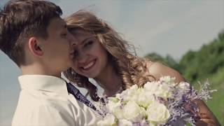 Счастливая семья. Свадебный клип. Смотреть до конца!!!