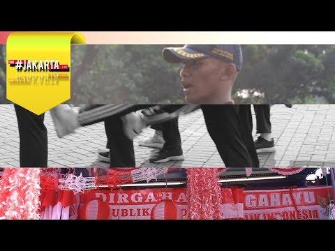 #JAKARTA - Menyambut #DirgahayuRI72 #72KerjaBersama
