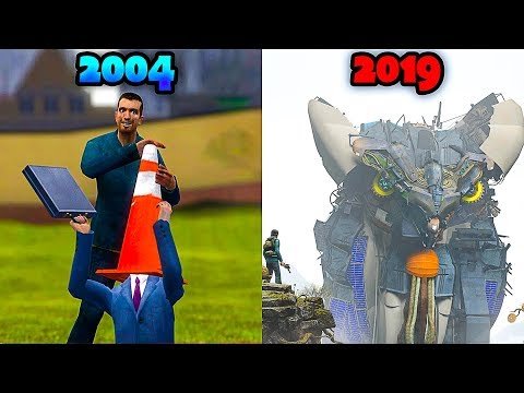 Evolution of Garry's Mod - From 2004 to 2019