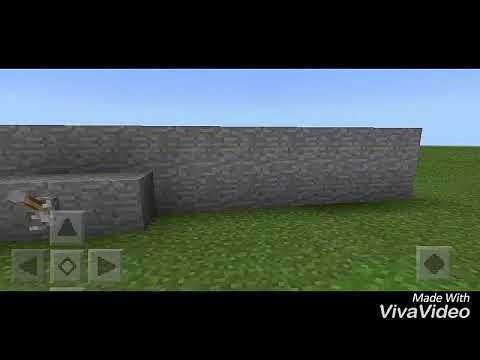 How to make a one way door in minecraft pe
