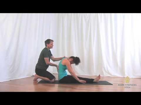 paschimottanasana  west stretching pose  youtube