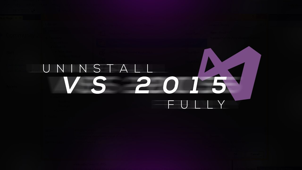 How to Uninstall Microsoft Visual Studio 2013/2015 | Almost Completely |  Tutorial |