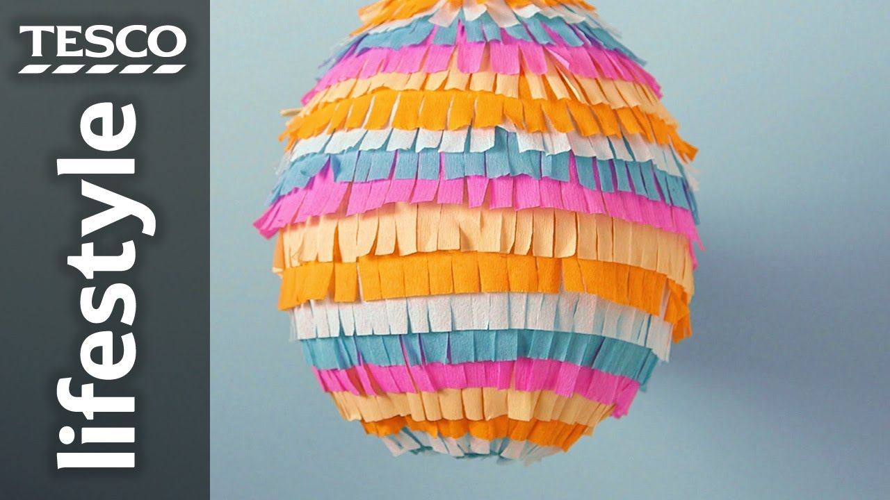 how to make a pinata A pinata brings life to a party - especially an outdoor party whether you make a paper mache pinata yourself or you involve the kids, you'll have a lot of fun with this diy project.