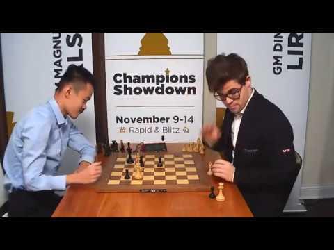 Ding Liren x Magnus Carlsen - Apuro de tempo