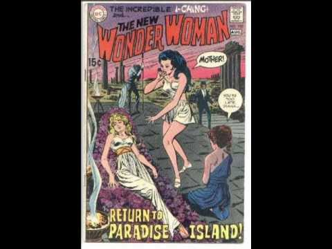 """Wonder Woman"" covers and ""Mosquito Dog"""