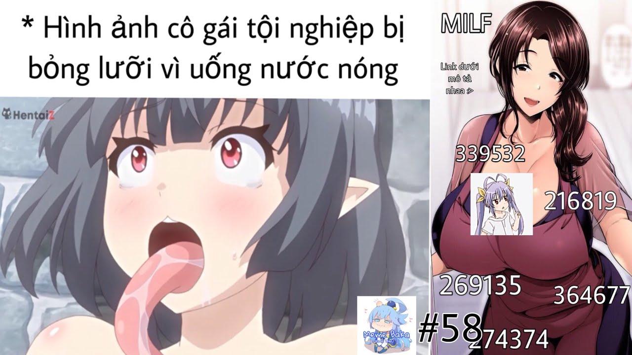 Ảnh chế Anime #58 Muốn sờ vào chỗ Này không - Meme Baka