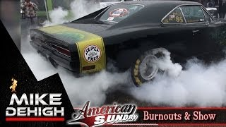 Burnouts Muscle Cars Mopar Hot Rods American Sunday 2014 HD 1080