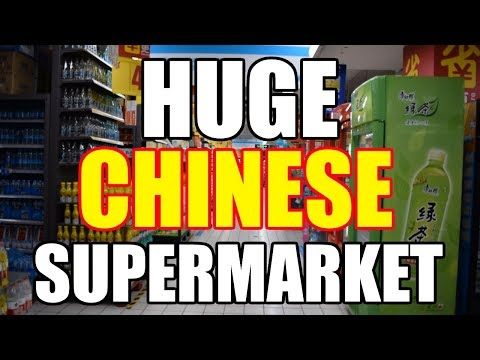 AU PAIR EXPLORES HUGE CHINESE SUPERMARKET [China Au Pair Vlog #21]