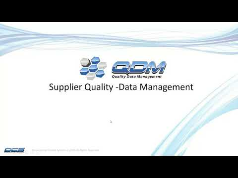 PREVIEW - Supplier Quality Assurance - Validate Supplier Parts Before They are Shipped