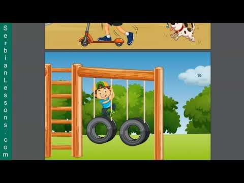 Serbian for Kids - Locative Case Fun Way