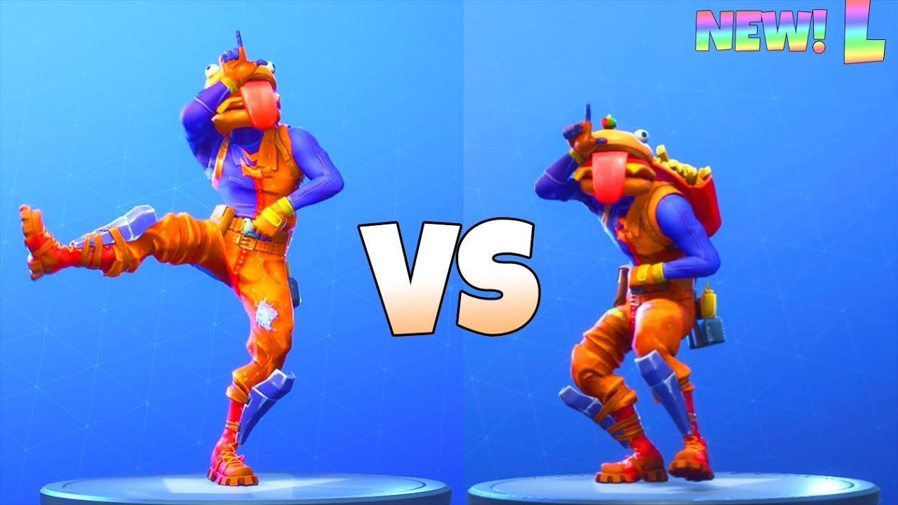 mini take the l emote looped vs take the l fortnite battle royale - fortnite peely skin transparent