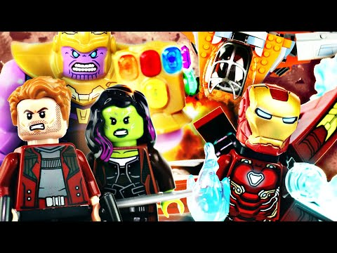 LEGO Avengers : Infinity War - Thanos Ultimate Battle (76107) - Review